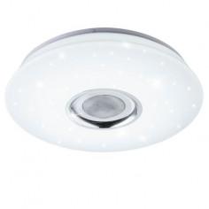 LED плафон с високоговорител - Ø40 см, 18 W + RGB 6 W