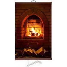 Инфрачервен нагревател - 450W, тип картина Камина