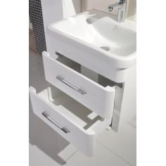 PVC мебел за баня с умивалник Capri, с две чекмеджета