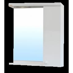 PVC горен шкаф за умивалник с LED осветление Нео