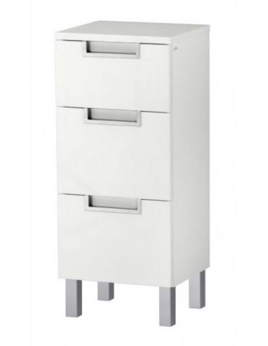 Шкаф от MDF, 30x76x30 см, бял