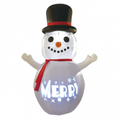 Снежен човек 180 см - LED
