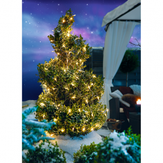Коледна LED верига - 2 м, 160 светодиода