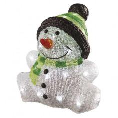 LED снежен човек - 3,6 W, 24х24 см, 30 светодиода, IP44