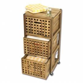 Мебели за баня - контейнер на колелца