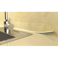 Imagén: Универсален маскиращ профил за кухненски шкафове WU/ 101 бяло