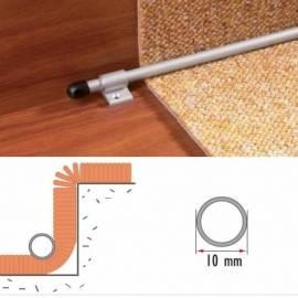 Стъпален профил за мокет AL/PS2 - CO/сребро/ 2 бр.