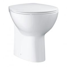 Стояща тоалетна без ръб Grohe Bau Ceramic, вертикално оттичане