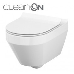 Imagén: Стенна тоалетна без ръб CREA CleanOn