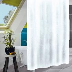 Завеса за баня Uni White, 180х200 см, бяла