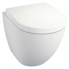 Стенна тоалетна без ръб, с...