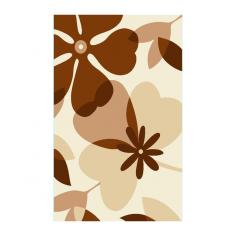Килим Бежови цветя 160х230 см
