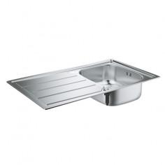 Кухненска мивка K200, 860х500 мм, неръждаема стомана, с отцедник