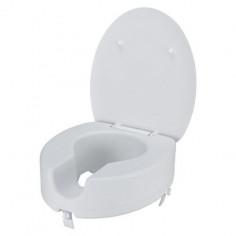Тоалетна седалка с увеличена височина, бяла, 10 см