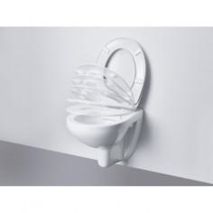 Тоалетна седалка Ceramic, забавено падане, метални шарнири