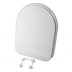 Тоалетна седалка за моноблок, пластмаса, бяла
