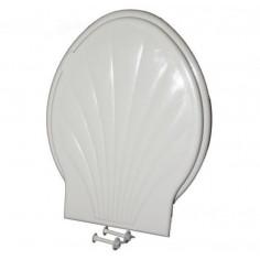 Тоалетна седалка, пластмаса, бяла