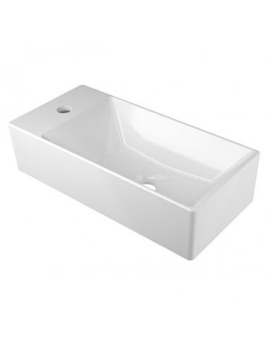 Керамичен умивалник Levante 2.0, 50х24x12.5 см, бял