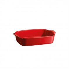 """Керамична провоъгълна форма за печене """" SMALL RECTANGULAR OVEN DISH""""- 30 х 19 см - цвят червен - EMILE HENRY"""