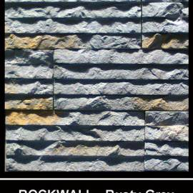Rockwall - rusty grey