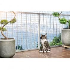Imagén: Защитна мрежа за котки, черна 6 х 2,5 м