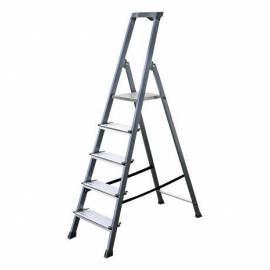 Алуминиева стълба Stabilomat Safemat, 5 стъпала