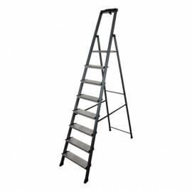 Алуминиева стълба Stabilomat Safemat, 8 стъпала