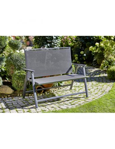 Алуминиева пейка - 119x67x96 см, сгъваема