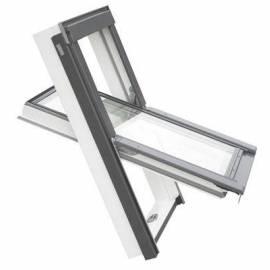 Покривен прозорец (размери - 55 x 78 см), PVC профил