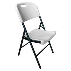 Сгъваем стол, бял
