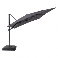 Градински чадър - тип камбана - антрацит, диаметър - 3 м