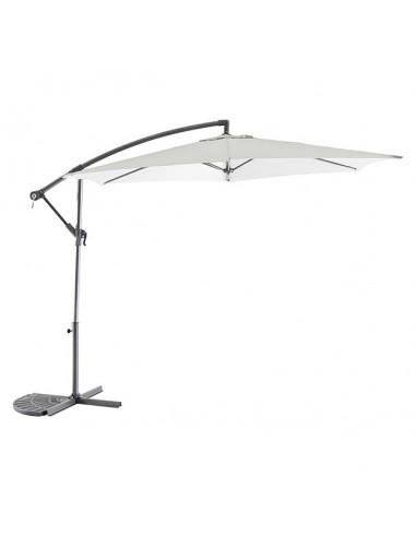 Градински чадър - тип камбана - светлосив, диаметър - 3 м