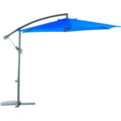 Градински чадър - тип камбана - турско синьо, диаметър - 3 м