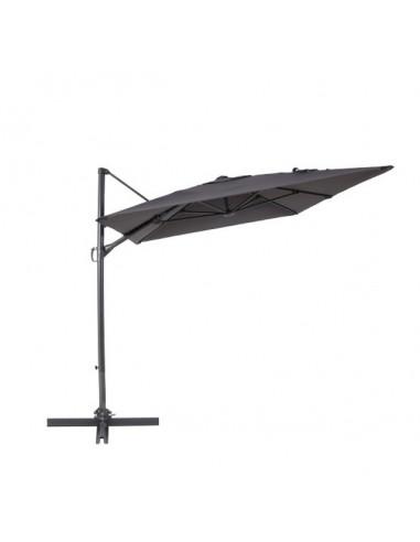 Градински чадър - тип камбана - антрацит, диаметър - 2 м