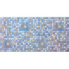 PVC пано Blue Medailon - 95,6х48 см