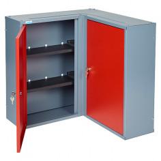 Метален ъглов стенен шкаф...
