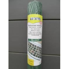 Универсална PVC мрежа Tenax Quadra 01 - 1х50 м, зелена