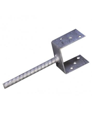 Усилена подпора за подов монтаж Stabilit, горещо поцинкована, 60x71x100 мм
