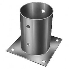 Втулка за подов монтаж, горещо поцинкована, Ø81 мм