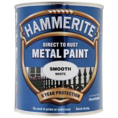 Боя Hammerite, гланц, бяла - 2,5 л