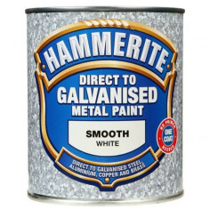 Боя за специални метали Hammerite, бяла, 750 мл - 2,5 л