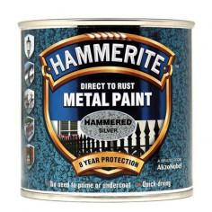 Боя Hammerite, хамър, сребриста - 2,5 л