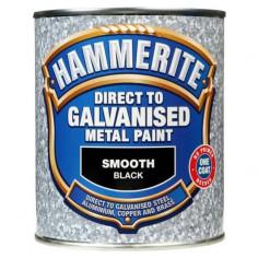 Боя за специални метали Hammerite, черна, 750 мл - 2,5 л
