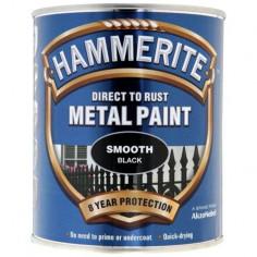 Боя Hammerite, гланц, черна - 2,5 л