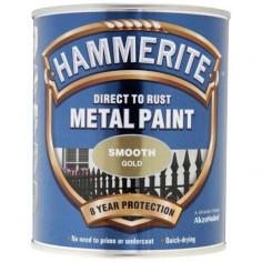 Боя Hammerite, гланц, цвят злато - 2,5 л