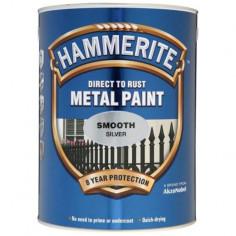 Боя Hammerite, гланц, сребриста - 2,5 л