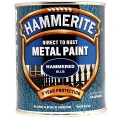 Боя Hammerite, хамър, синя - 2,5 л