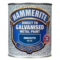 Боя за специални метали Hammerite, синя, 750 мл - 2,5 л