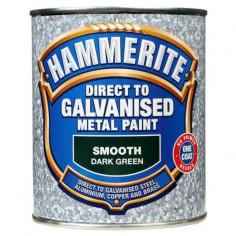 Боя за специални метали Hammerite, зелена, 750 мл - 2,5 л