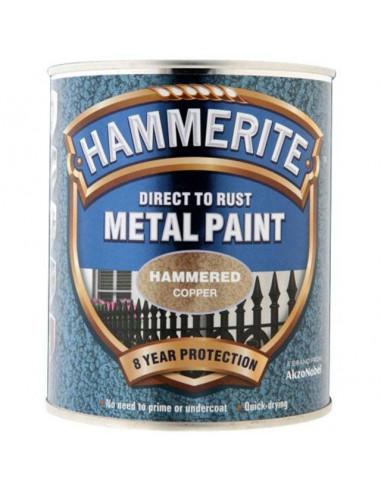 Боя Hammerite, хамър, цвят мед - 2,5 л